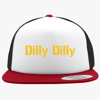 d1e079dbabe3d dilly dilly bud light Foam Trucker Hat