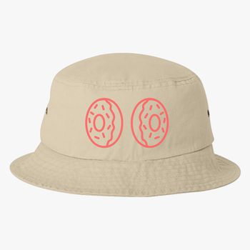 58e0ac370c1 Donut boobs Bucket Hat (Embroidered)