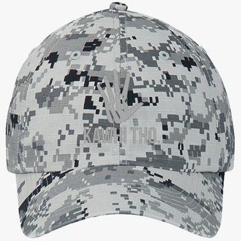 2ad5bc8acc3f5a KAWHI THO Ripstop Camouflage Cotton Twill Cap (Embroidered ...
