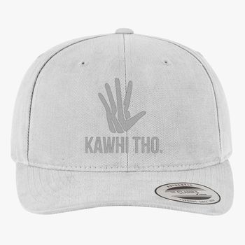 e68a432e293bba KAWHI THO Brushed Cotton Twill Hat (Embroidered)