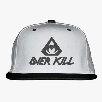 3d893c99 OverKill Snapback Hat (Embroidered) | Hatsline.com