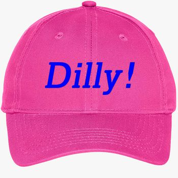 18644d88 dilly dilly Youth Six-Panel Twill Cap (Embroidered) | Hatsline.com