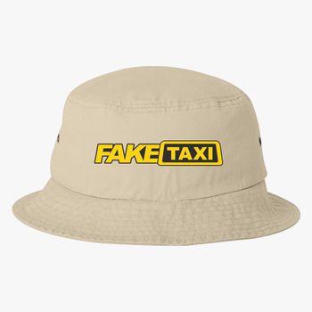Fake Taxi Logo Bucket Hat (Embroidered) - Hatsline com