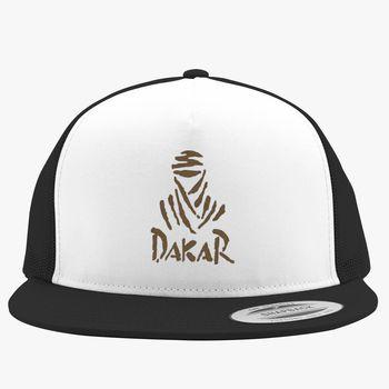 e10b258c70f32 Dakar Rally Logo Trucker Hat (Embroidered)