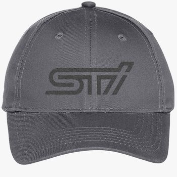 4b520d08 Subaru sti logo Youth Six-Panel Twill Cap (Embroidered) | Hatsline.com