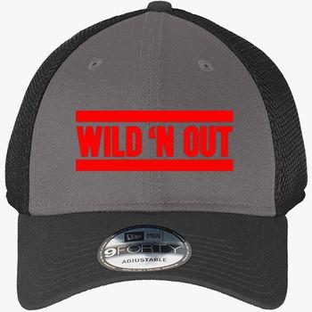 2cdaf0a8dde74a Wild n Out New Era Baseball Mesh Cap (Embroidered)