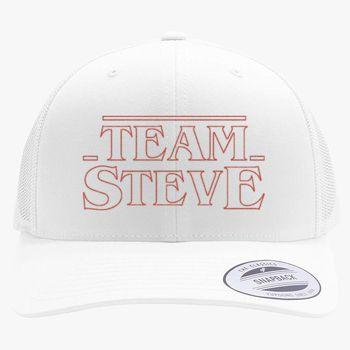 f6fa327d5bc Team Steve Stranger Things - go Steve! Retro Trucker Hat (Embroidered) |  Hatsline.com