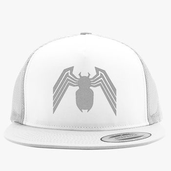 0a293dcd Venom Spider-Man Trucker Hat (Embroidered) | Hatsline.com