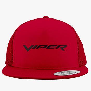 Dodge Viper Logo Red /& Black Baseball Hat
