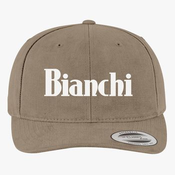 ee609a00283 Bianchi Logo Brushed Cotton Twill Hat