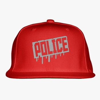61d4773e4 Police Snapback Hat (Embroidered) - Hatsline.com