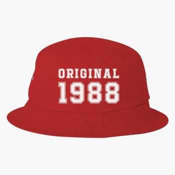 30th Birthday Shirt Bucket Hat Embroidered