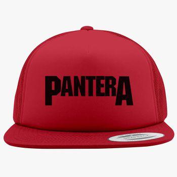 52bde15441255 Pantera Logo Foam Trucker Hat
