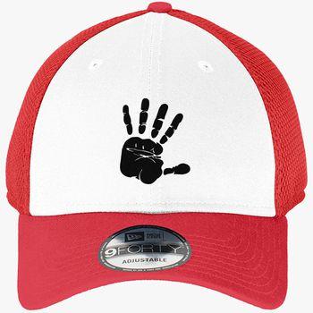 fb40d2d33f13a hand New Era Baseball Mesh Cap (Embroidered)