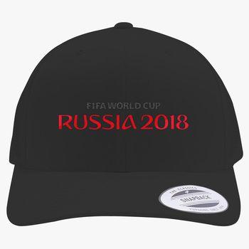 0092e49b4c7 Fifa World Cup Russia Retro Trucker Hat (Embroidered)