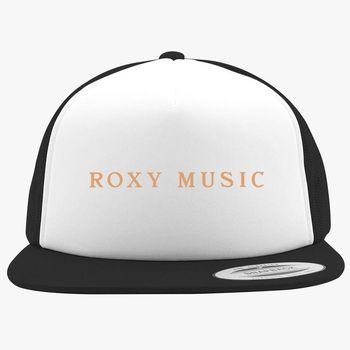 c53fb3e83b6f7 Roxy Music Logo Foam Trucker Hat