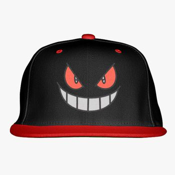 7641d450ffe Gengar - Pokemon Snapback Hat (Embroidered)