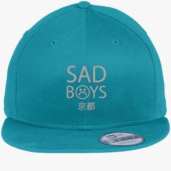 60c6292536c Yung Lean Sad Boys Logo New Era Snapback Cap (Embroidered ...