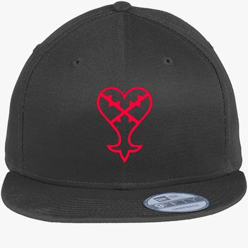 Black Kingdom Hearts Dad Hat Adjustable Kingdom Hearts Snapback Hat