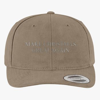 7f039c50c Make Christmas Great Again Brushed Cotton Twill Hat (Embroidered) |  Hatsline.com