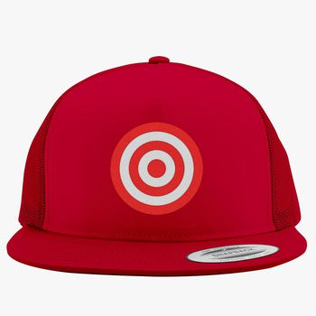 5dbd390e481 discs target Trucker Hat (Embroidered)