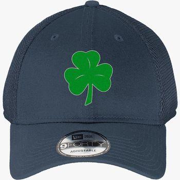 41904309 Shamrock New Era Baseball Mesh Cap (Embroidered) | Hatsline.com