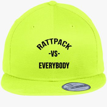 5658cd3490bf5 RattPack VS Everybody Black T-Shirt New Era Snapback Cap (Embroidered)