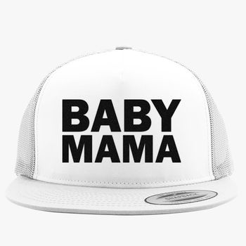37cf16c50a1 Baby Mama Trucker Hat (Embroidered) - Hatsline.com