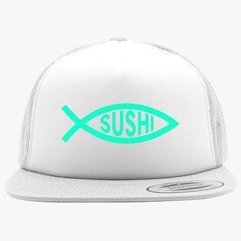8ba23ebe8dfce Sushi Fish Foam Trucker Hat