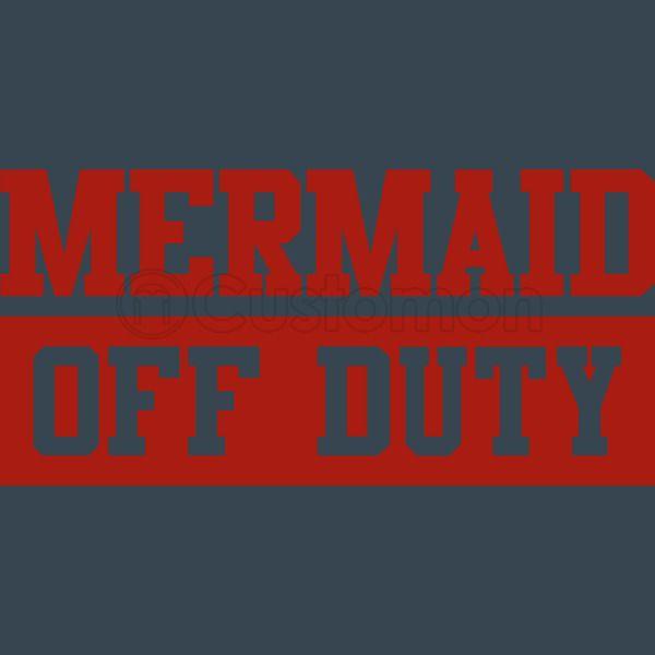 Mermaid Off Duty New Era Snapback Cap Embroidered