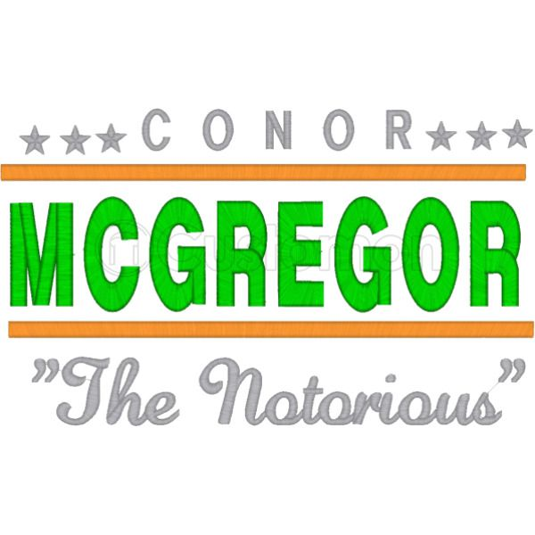 de3d9423ee1 CONOR MCGREGOR THE NOTORIOUS Foam Trucker Hat ...