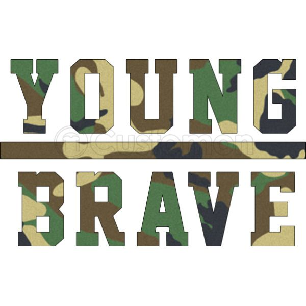 407ab2bfac4 YOUNG BRAVE - CAMO Foam Trucker Hat +more