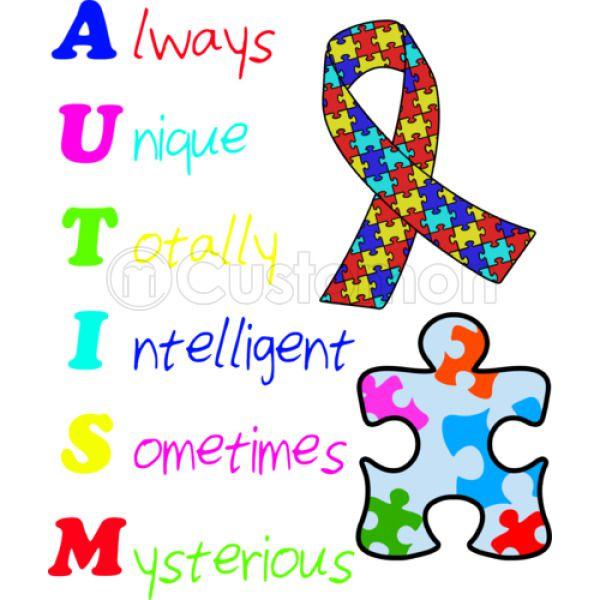 567e5716d Autism Awareness Baby Bib   Hatsline.com