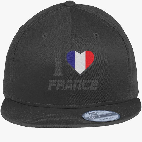 67ebd543318 I LOVE FRANCE New Era Snapback Cap - Embroidery +more