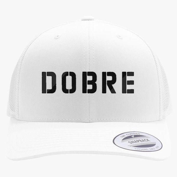 3c841fc837b4d Dobre Twins black Retro Trucker Hat - Embroidery +more
