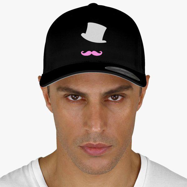 Markiplier mustache logo Baseball Cap - Embroidery +more e04f412cd70c