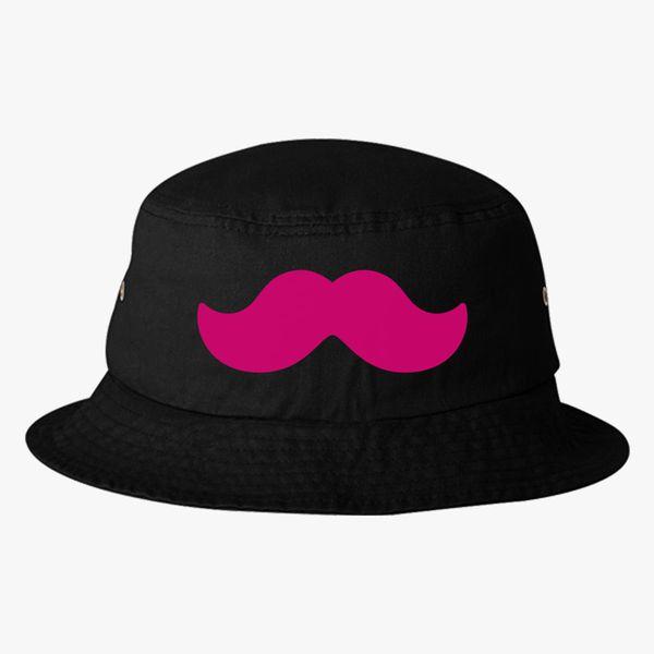 Markiplier Mustache Bucket Hat - Embroidery +more b2e754110893