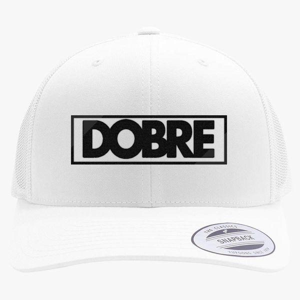 b75d028bff3e2 Dobre Twins Brothers Logo Retro Trucker Hat - Embroidery +more
