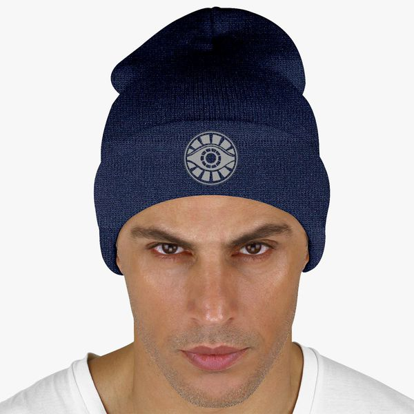 246e8f1ab04 Meyerism Eye - The Path Light Knit Cap - Embroidery +more