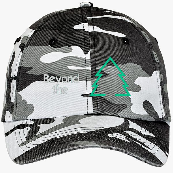 800071c866b8b Beyond The Sugar Pine 7 Camouflage Cotton Twill Cap (Embroidered ...