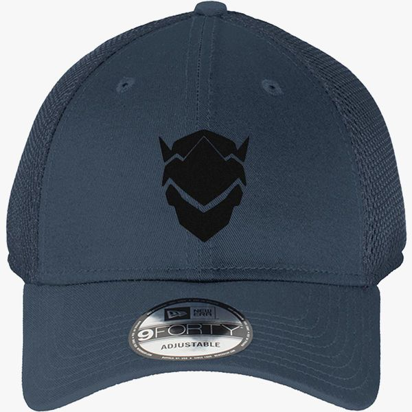 Genji Overwatch New Era Baseball Mesh Cap - Embroidery +more 09b9d163faeb