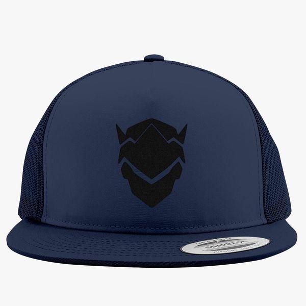 27ca75c5d1d Genji Overwatch Trucker Hat - Embroidery +more
