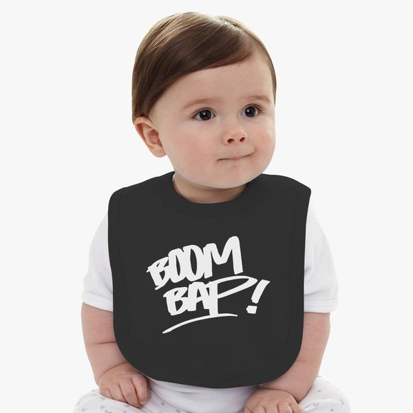 fc98e8352 BOOM BAP, ORIGINAL RAP! Baby Bib | Hatsline.com