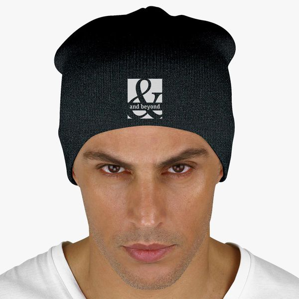 435b861a016 Above and Beyond Knit Beanie (Embroidered)