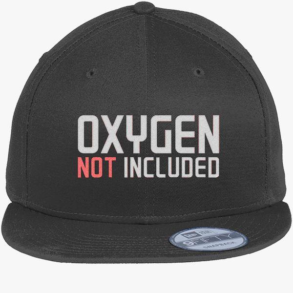 b4779e119 oxygen not included New Era Snapback Cap (Embroidered)   Hatsline.com