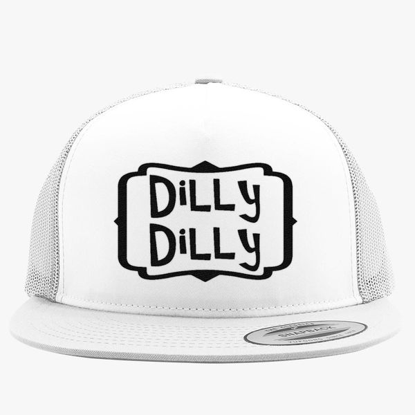 d2ab73e7c751d dilly dilly Trucker Hat - Embroidery +more