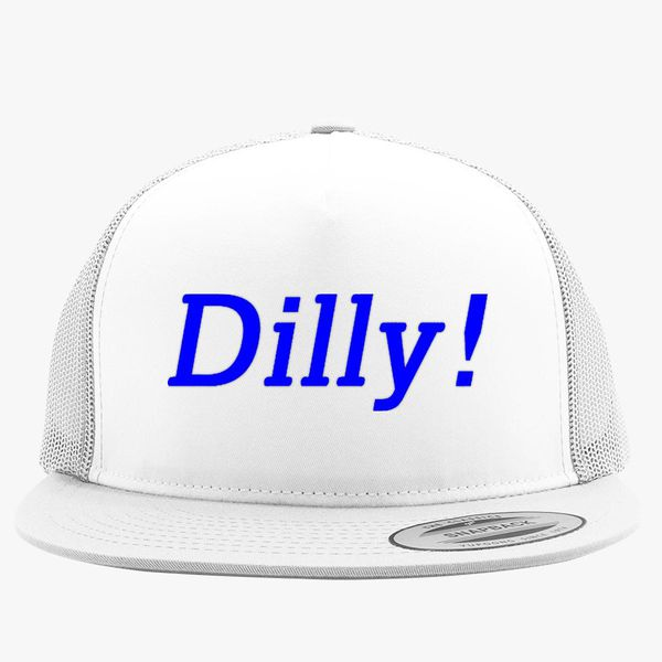 8e011fef49b4a dilly dilly Trucker Hat - Embroidery Change style