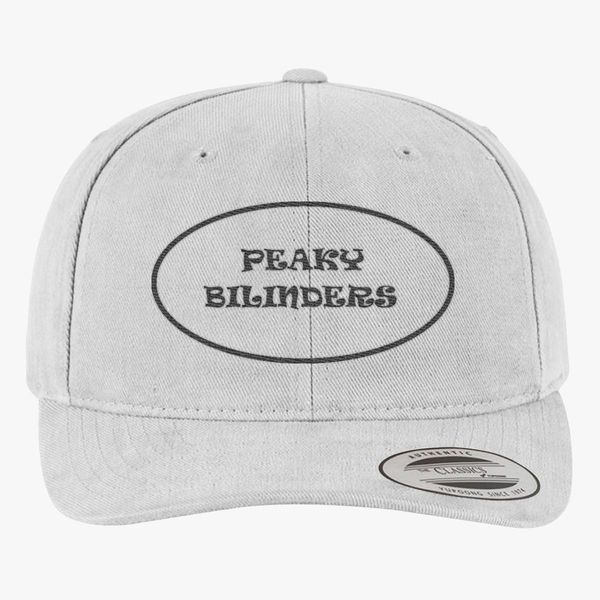 ad82fc0cbd586 peaky blinders logo Brushed Cotton Twill Hat - Embroidery +more
