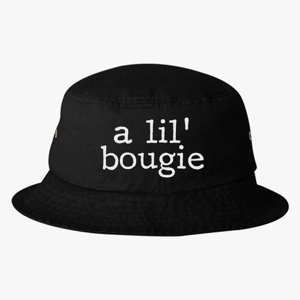 8aaa43da9e4 A Lil  Bougie Bucket Hat (Embroidered)