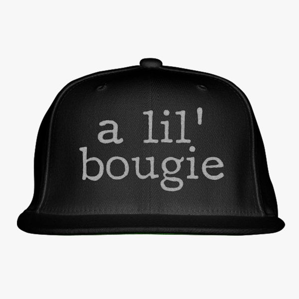fe7218bab1b A Lil  Bougie Snapback Hat - Embroidery +more